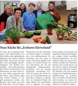 Neue Küche essbares Kleverland